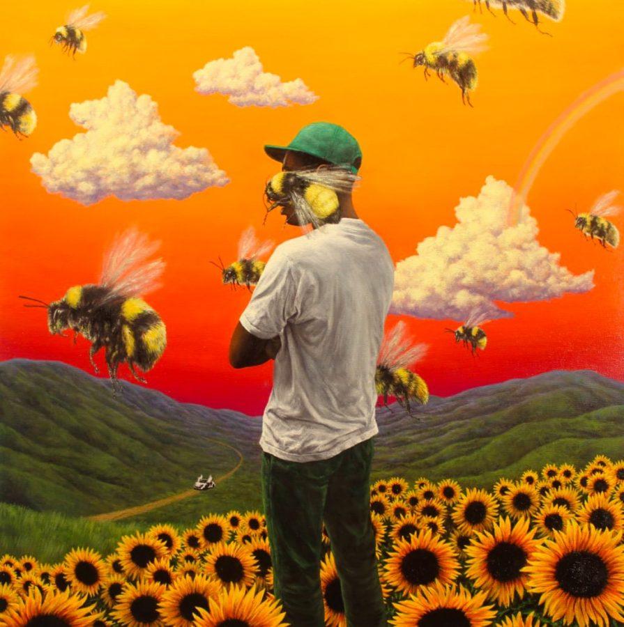 406a38e9d583c4 WVAU s  3 AOTY  Flower Boy by Tyler