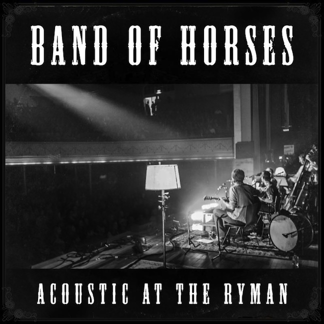 Band of Horses ‰ÛÒ Acoustic At The Ryman (Brown)
