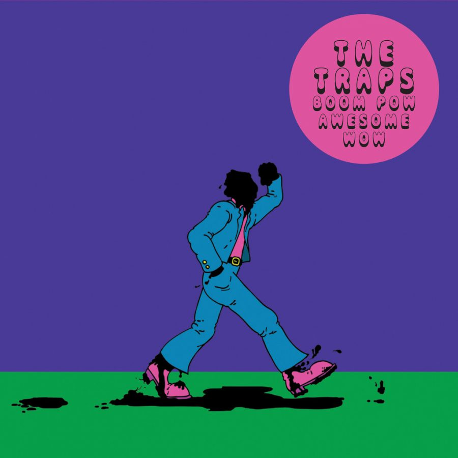 The Traps-Boom Pow Awesome Wow (Burger Records)