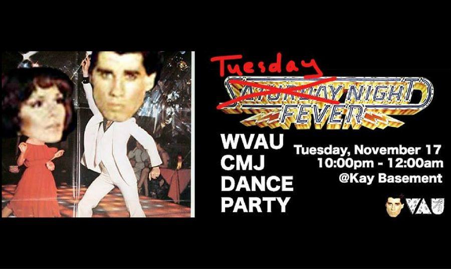 WVAU Present: CMJ Dance Party