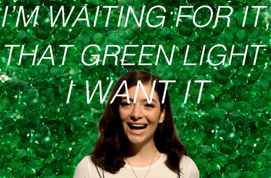 From Green to Blue: Lorde's Upcoming Melodrama