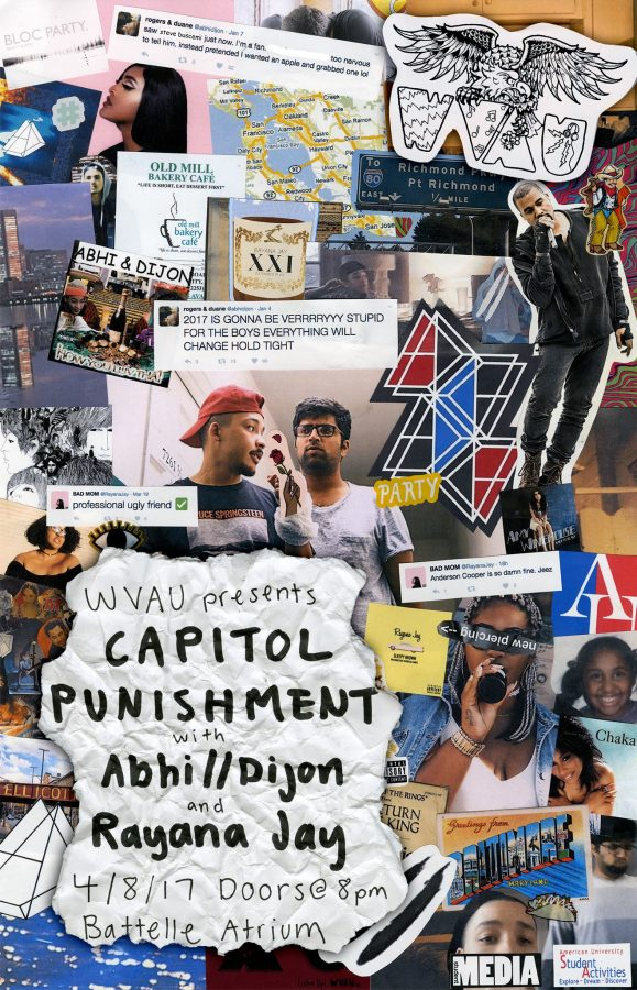 WVAU PRESENTS: Abhi//Dijon & Rayana Jay on 4.8.17