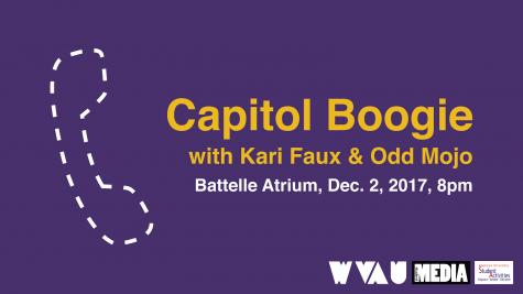 CAPITOL BOOGIE: Kari Faux & Odd Mojo on 12/2