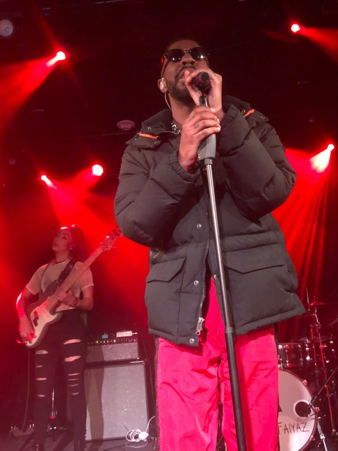 Brent Faiyaz and Diana Gordon at Union Stage