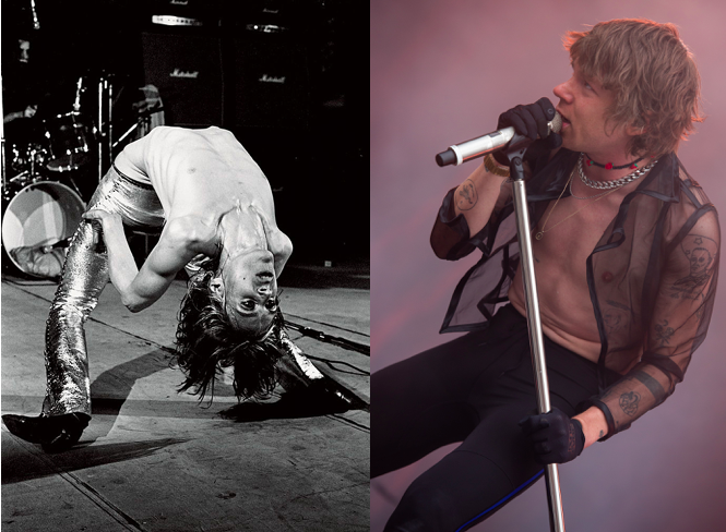 Respect the Classics- Iggy Pop (The Stooges) and Matt Schultz (Cage the Elephant)